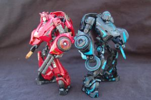 Mold Brothers (Custom Transformer Figures) by ammnra