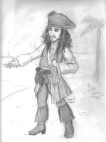 Capitaine Jack Sparrow by Konstance