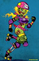 Roller Zombie by dsoloud