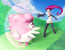 Ignorance is Blissey by lancercross