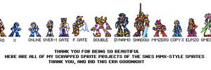 MMX Sprites Wrap-Up by Unknowni123