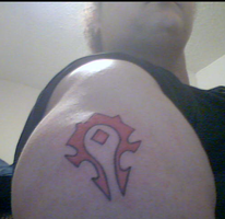 World of Warcraft Tattoo 1/5/2013 by SpaceRanger108