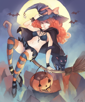 Not even Halloween Yet by Xoue