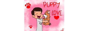 PTX Mitch Grassi Valentine: Puppy Love by gleefulchibi