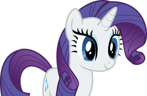 Rarity Is Happy by FonyPony