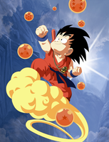 Dragon Ball - Kintoun Goku by nonexistence-eternal