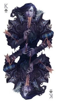 King of Spades by Quberon