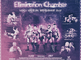 WWE Elimination Chamber 2013 by MhMd-Batista