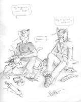 Colin and my food conspiracy by ShadowPaladin