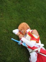 Sleeping Asuna by Witts-End