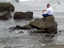 Old Man Fishing by Photos-By-Michelle