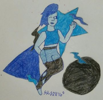 Jazzercise!: Lapis by Divergent-Shark