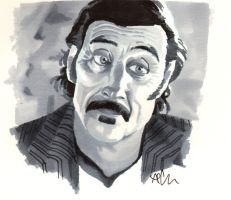 Al Swearengen by alan-cooper