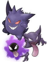 08 - Gengar by allocen