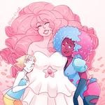 Early Crystal Gems by Sogequeen2550