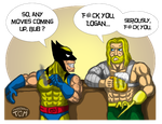 Marvel/DC - Pub Chat by Kaitoraikan