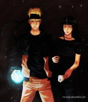 Request - Naruto and Hinata by irenukia