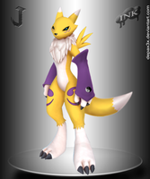Renamon. by DepaX3x