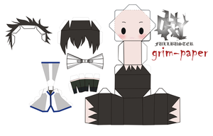gray fullbuster pattern by Grim-paper