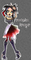 Monster High OC- Ravenka Krueger by ShiChel