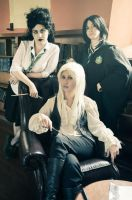 HP: Slytherins by christie-cosplay
