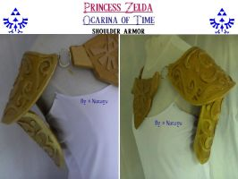 princess zelda OoT armor 1 by Narayu