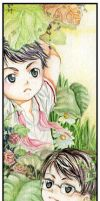 Bookmark: Friends_Spring by yama30