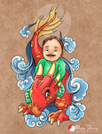 Isaac : tattoo commission by Milee-Design