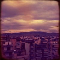 Athens..West Side Sky by leukoula