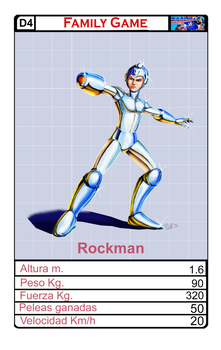 Cromy Family Game D4 Rockman by DRAKE7018