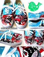 Japan Shoes by artsyfartsyness