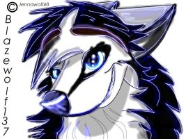 Blazewolf137 icon by AgentWhiteHawk