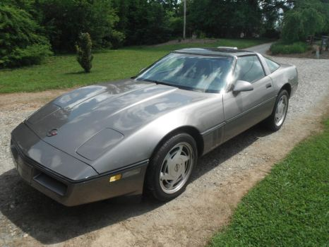 My Corvette. by Sparkster11