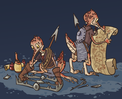 Dungeons n Drawings19: Kobolds by ExitStageLeft