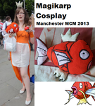 Magikarp Cosplay (4th cosplay) by Dappelily