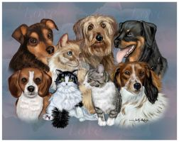 Doggie Love SGG1 by sallygilroy
