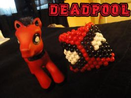 deadpool pony and kandi by EeKeRs05