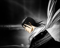 Kuchiki Byakuya Wallpaper by alextakacs10