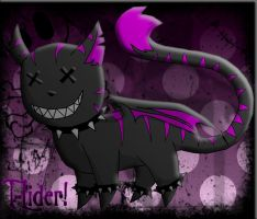 Evril: The Cat demon by t-lider