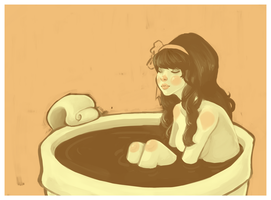 teacup bath by rinnana
