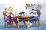 :Comission-Lunchtime/GohanXTrunks by WarlockMaster