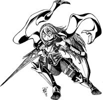 Lucina Exalted Assassin by Scorpius007