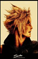 FF7: Cloud Strife II by JackEavesArt