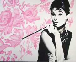 Audrey Hepburn by LittleGermany96