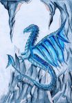 Dragon glace by Cassyblue