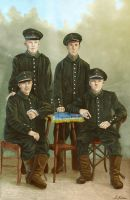 Prussian Corporals by AzurLazuly