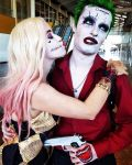 Harley Feat. The Joker - I never get the joke!  by JuliePuddin