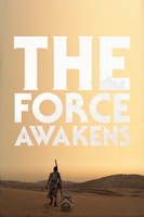 STAR WARS: THE FORCE AWAKENS - REY // POSTER by MrSteiners