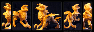 Gilda Sculpture by KP-ShadowSquirrel