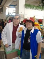 Professor Oak and Ash by wrightisright3